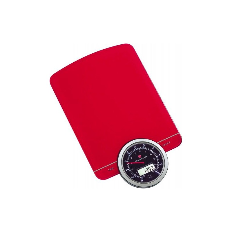 Balance de cuisine digitale rouge Balance de cuisine rouge