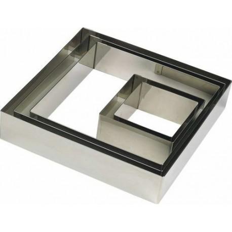 Cercle carré, 6x6x3 cm