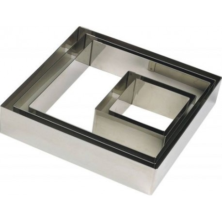 Cercle carré, 16x16x2 cm