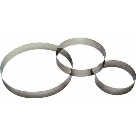 Cercle à entremet ø7x3,5cm