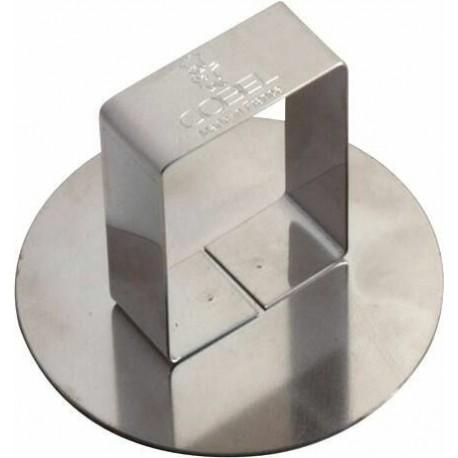 POUSSOIR INOX D73 MM POUR CERCLE