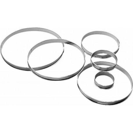 Cercle à tarte ø9x2cm