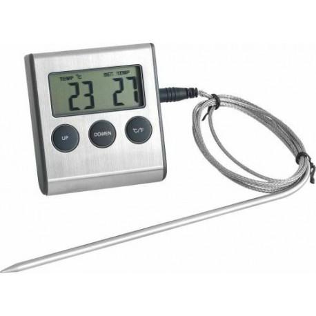 Thermomètre digital pour four avec sonde -25°c +250°c