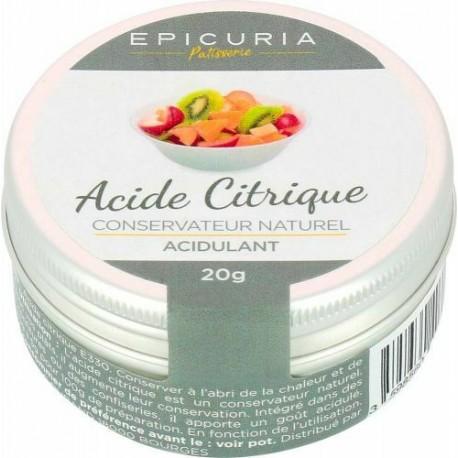 acide citrique Epicuria 20g