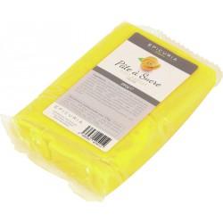 Pâte à sucre jaune Epicuria 250g