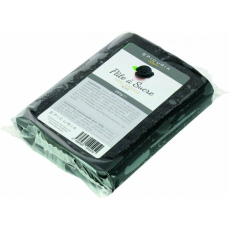 Pâte à sucre noire Epicuria 250g