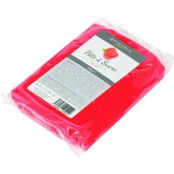Pâte à sucre rouge Epicuria 250g