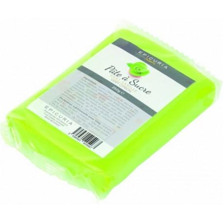 Pâte à sucre vert citron Epicuria 250g