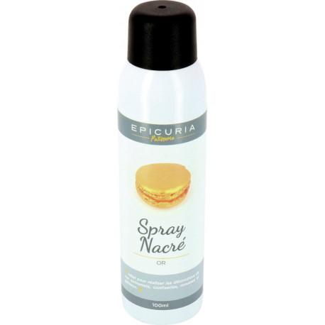 Spray nacré or Epicuria 100ml