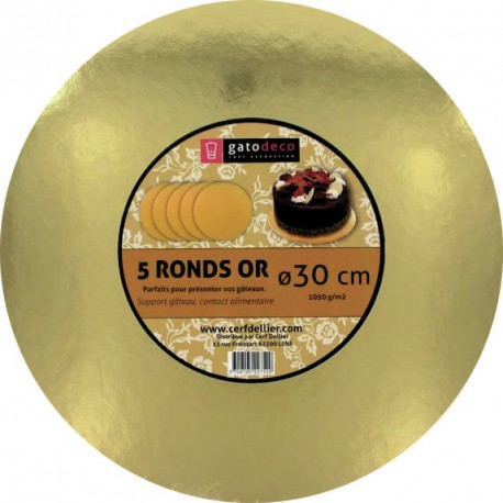 Rond or 30cm /5