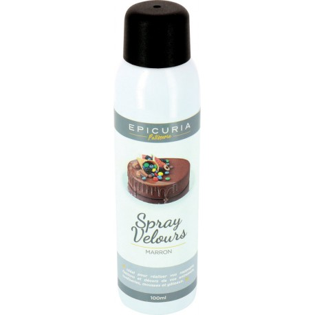 Spray velours marron Epicuria 100ml