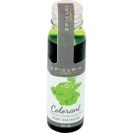 Colorant liquide hydrosoluble vert pistache Epicuria