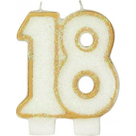 BOUGIE ANNIVERSAIRE 18 ANS