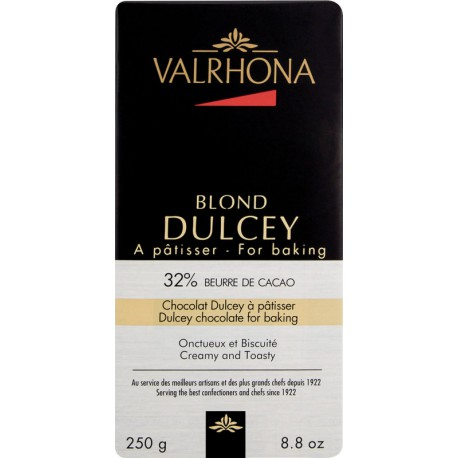 TABLETTE CHOCOLAT BLOND DULCEY 32% 250G