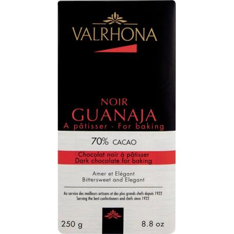 TABLETTE CHOCOLAT NOIR GUANAJA 70% 250G