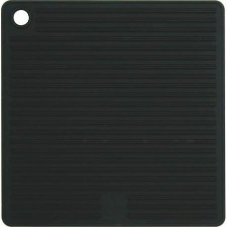 Manique carrée silicone noire