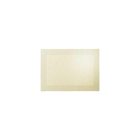 SET DE TABLE PVC METALLIC BORD SABLE 46X33CM
