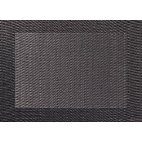 SET DE TABLE PVC BORD ANTHRACITE 46X33CM