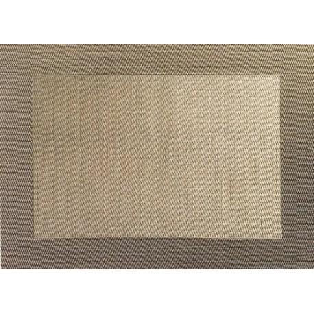 SET DE TABLE PVC BORD BRONZE 46X33CM