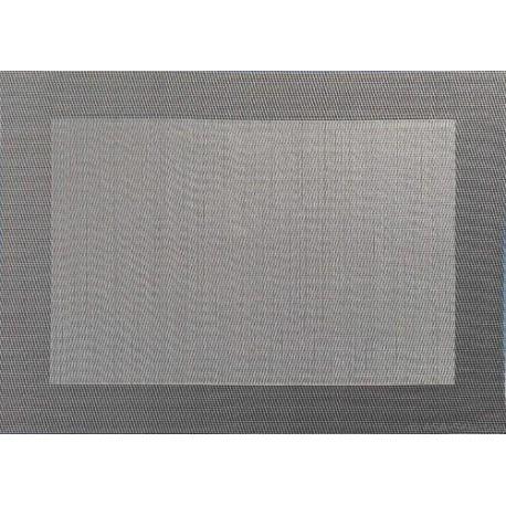 SET DE TABLE PVC GRENADE GRIS 46X33CM