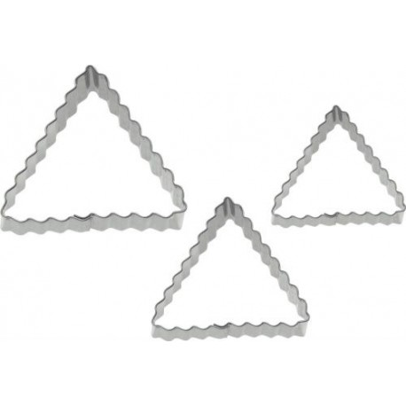 EMPORTE PIECE INOX TRIANGLE /3