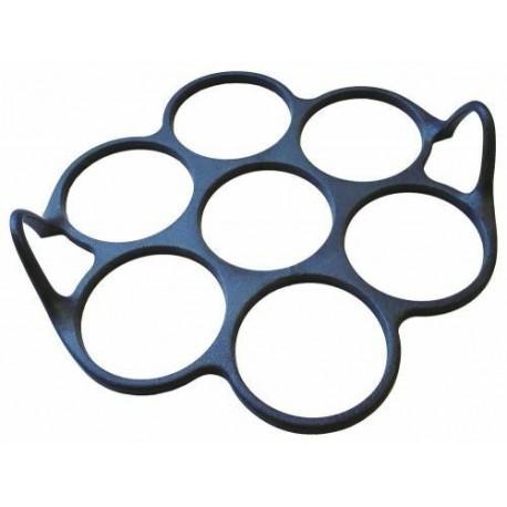 Moule à blinis silicone 7 empreintes ø23cm