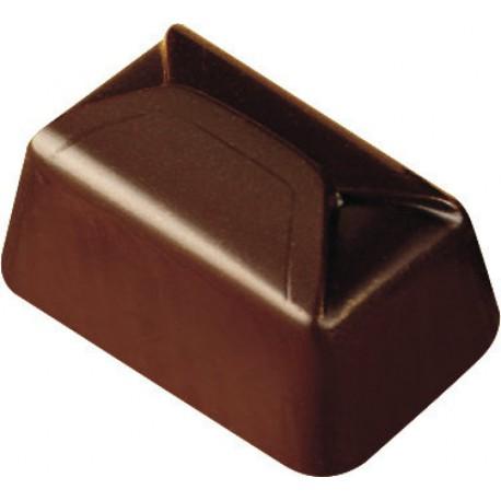 PLAQUE POUR 36 LINGOTS CHOCOLAT MAKROLON 27,5X17,5 CM