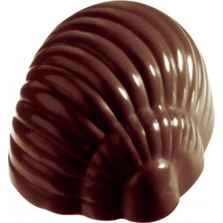 PLAQUE POUR 35 ESCARGOTS CHOCOLAT MAKROLON 27,5X17,5 CM