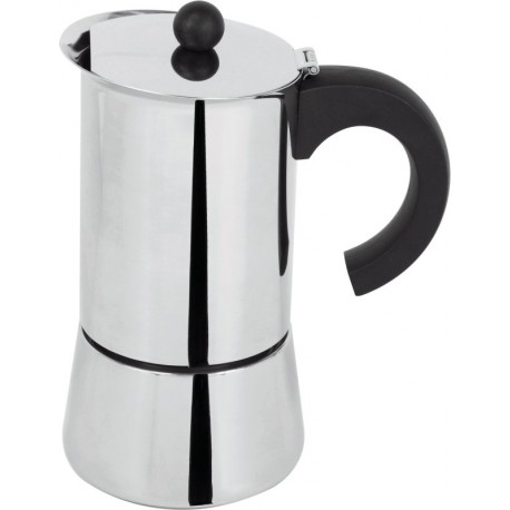 CAFETIÈRE INDUCTION INOX 4 TASSES