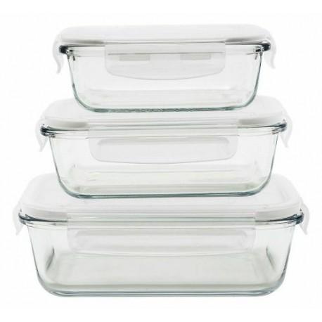 Boites de conservation verre 40/65/100cl