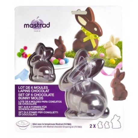 MOULE CHOCOLAT PAQUES LAPIN /6