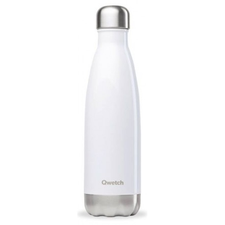 BOUTEILLE ISOTHERME BLANC BRILLANT 50CL