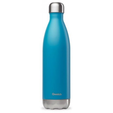BOUTEILLE ISOTHERME BLEU TURQUOISE 75CL