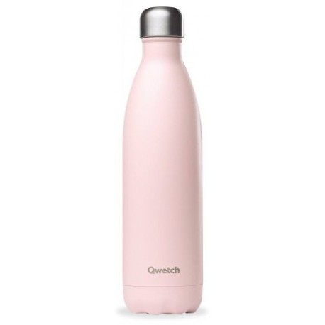 BOUTEILLE ISOTHERME ROSE PASTEL 75CL