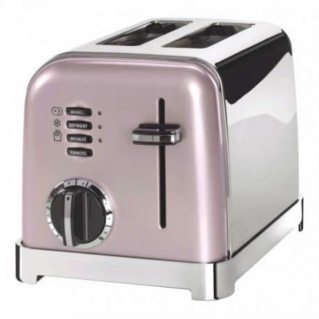 TOASTER 2 TRANCHES ROSE VINTAGE