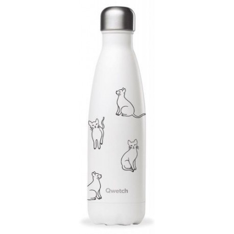 BOUTEILLE ISOTHERME PRETTY CATS 50CL
