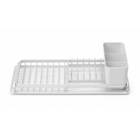 Égouttoir à vaisselle gris clair 46,3 x 20 x 12,5 cm