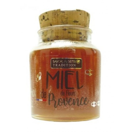 Miel de fleurs de Provence 160g
