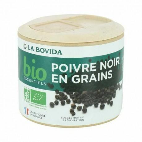 Poivre noir en grains Bio Essentiels