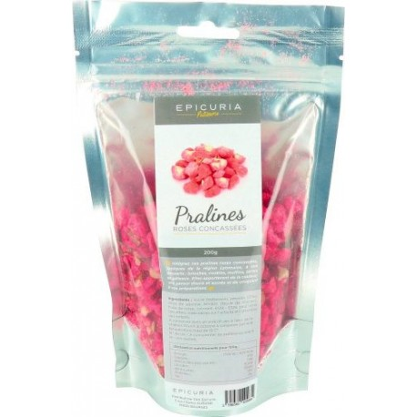 Praline rose concassée Epicuria 200g