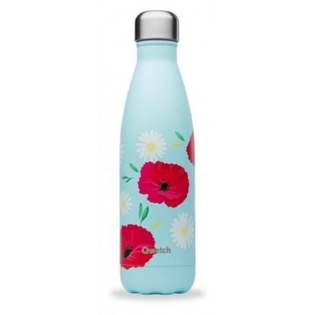 Bouteille isotherme coquelicot 50 cl