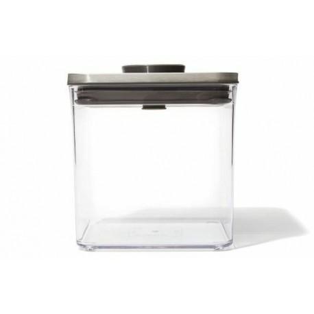 Boîte de conservation pop oxo carrée 2,6 L
