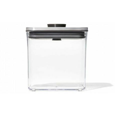 Boîte de conservation pop oxo rectangulaire 1,6 L