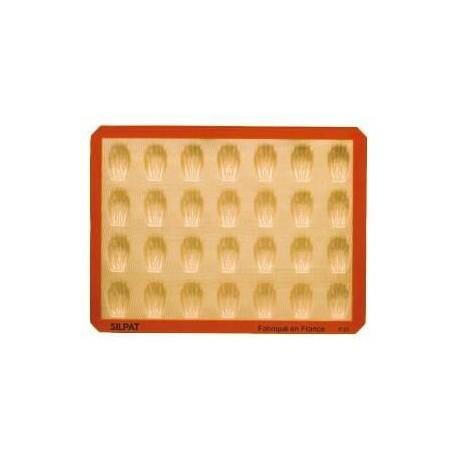 Moule mini madeleine 28 empreintes