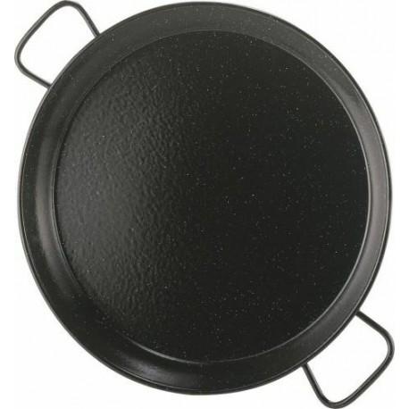 Plat à Paëlla acier émaillé, 60 cm