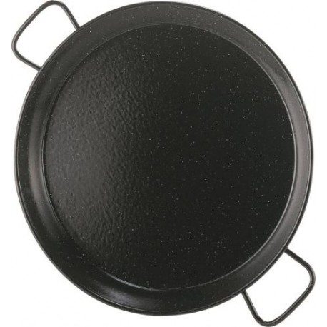 Plat à Paëlla acier émaillé, 80 cm