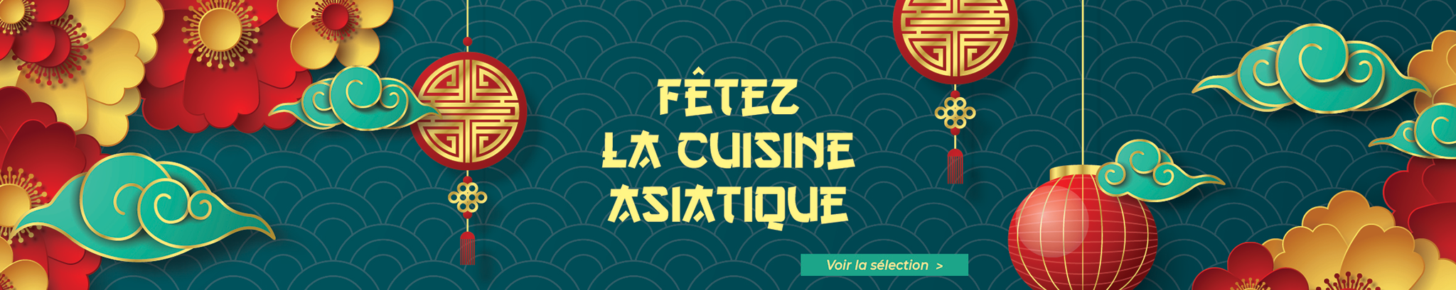 Fêtez la cuisine asiatique