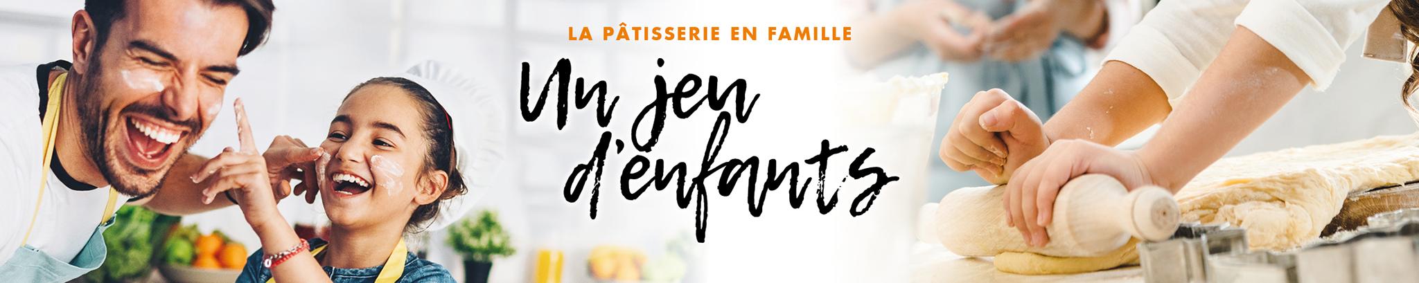 La Pâtisserie en Famille : un jeu d'enfants