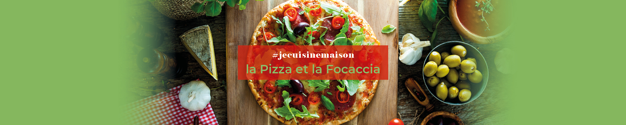 #jecuisinemaison : la Pizza et la Focacca