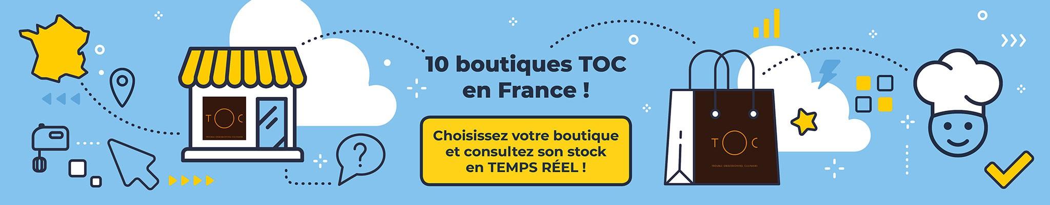Choisissez votre boutique et consultez son stock en temps réel !